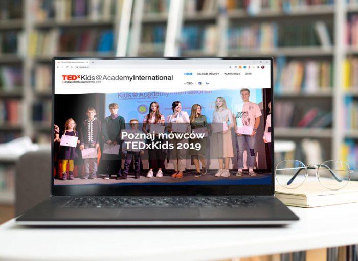 strona www TEDx