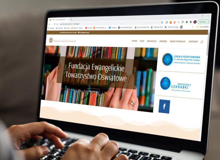 Strona internetowa ETP